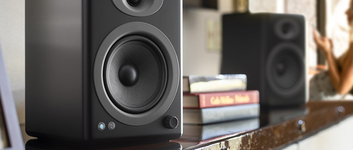 Audioengine A5+ Wireless Powered Speakers - Pair
