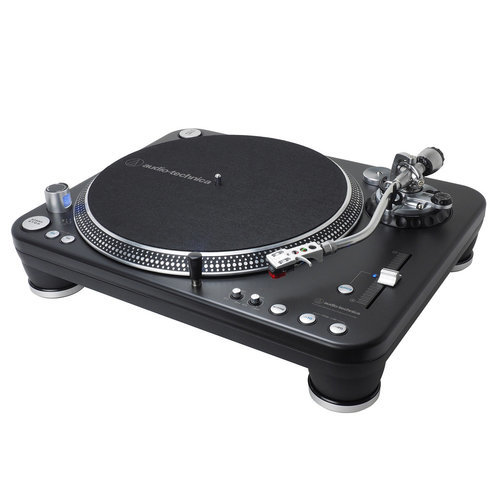 AudioTechnica AT-LP1240-USB XP Direct-Drive Professional DJ Turntable (Black)