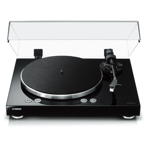 Yamaha MusicCast Vinyl 500 Wi-Fi Turntable (Piano Black)
