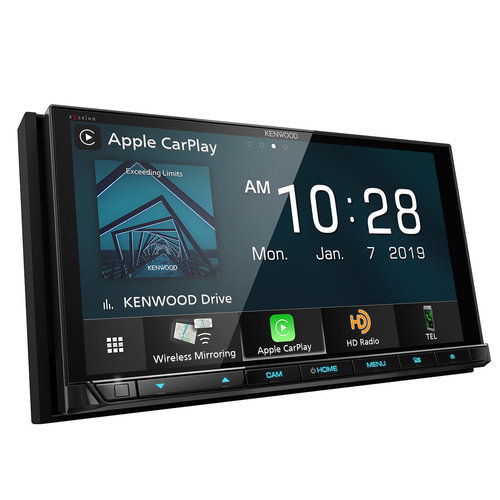 "Kenwood DDX9906XR 6.8"" DVD Touchscreen Receiver w/ Apple CarPlay and Android Auto"