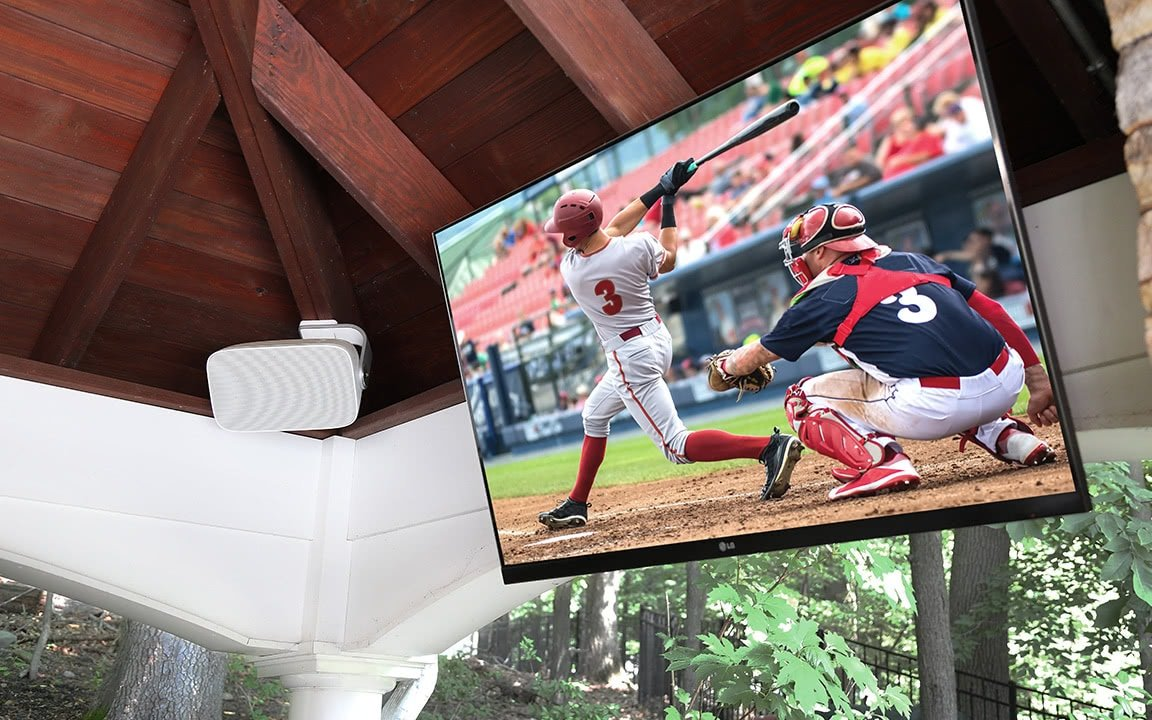 Outdoor Wall Mounted TV