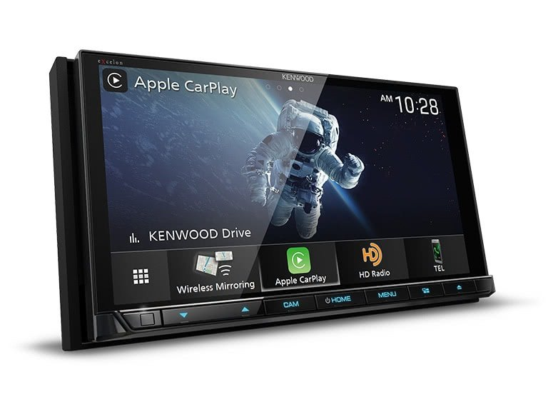 "Kenwood DDX9907XR 6.8"" CD/DVD Receiver w/ Apple CarPlay and Android Auto"