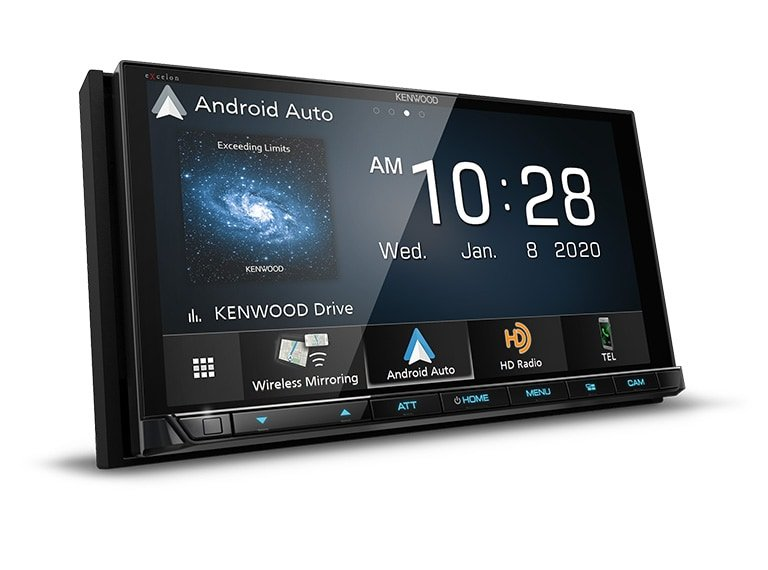 "Kenwood DMX957XR 6.8"" Digital Media Touchscreen Receiver w/ Apple CarPlay and Android Auto"