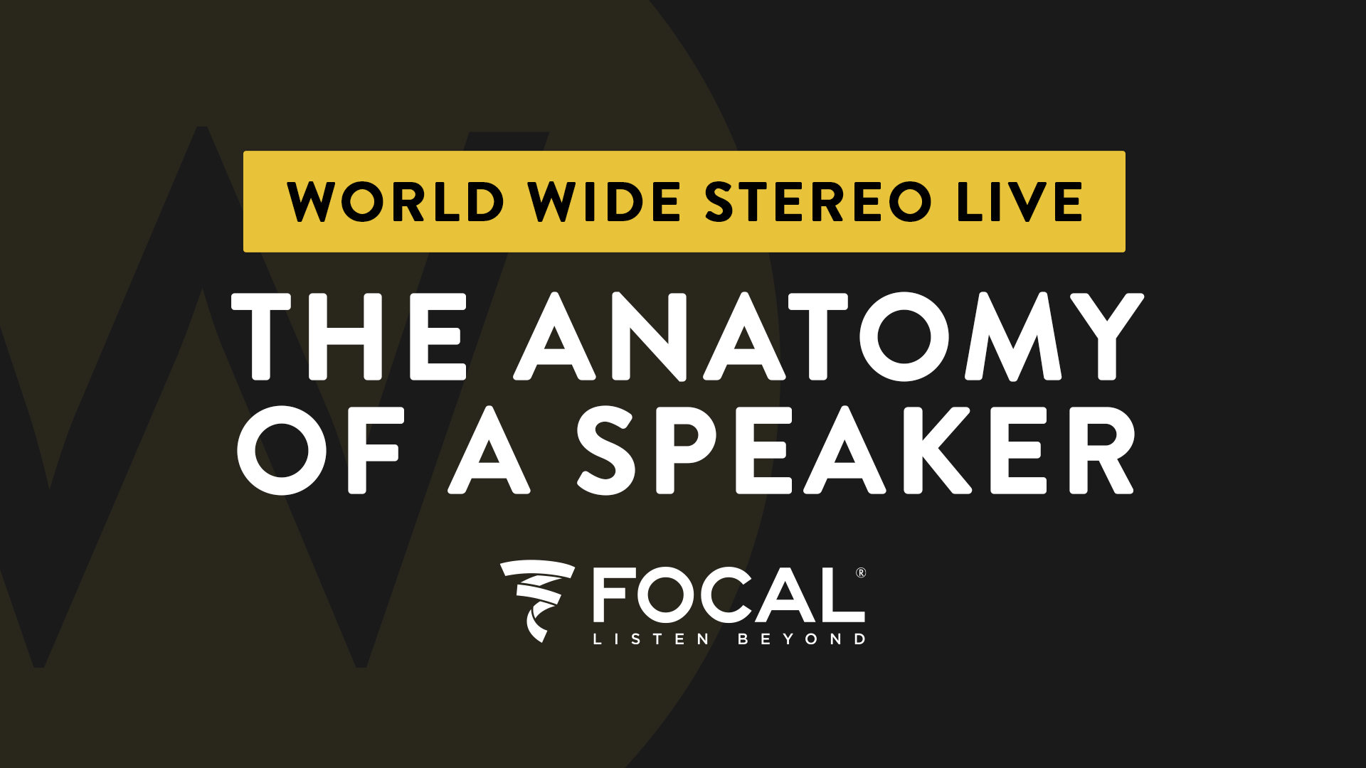 Ep. 9 The Anatomy of a Speaker