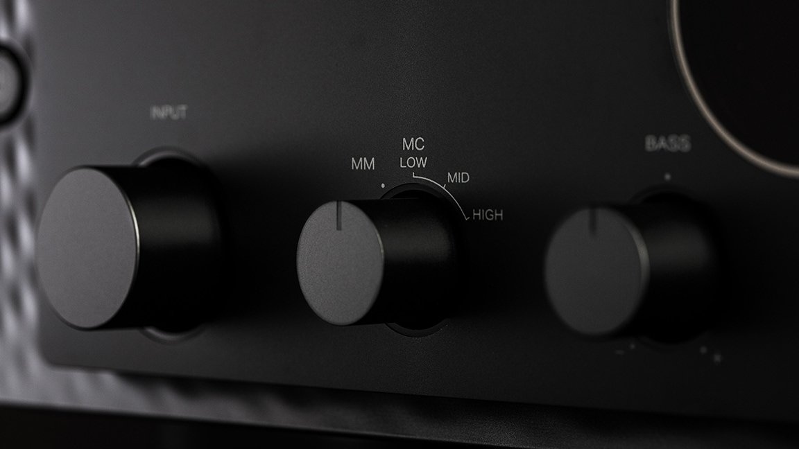 Close up of Model 30 knobs
