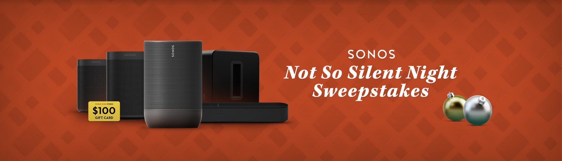 Sonos Not So Silent Night Sweepstakes
