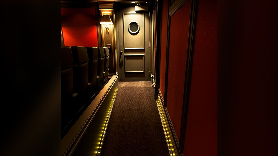 home theater view