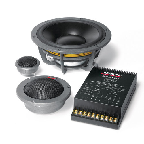 "View Larger Image of System 362 Esotec 8"" 3-Way Component Speakers"