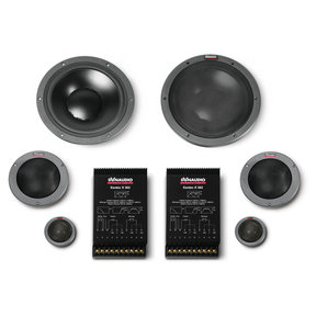 "System 362 Esotec 8"" 3-Way Component Speakers"