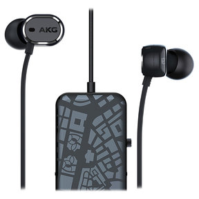 N20NC Noise-Cancelling In-Ear Headphones with Three-Button Remote (Black)
