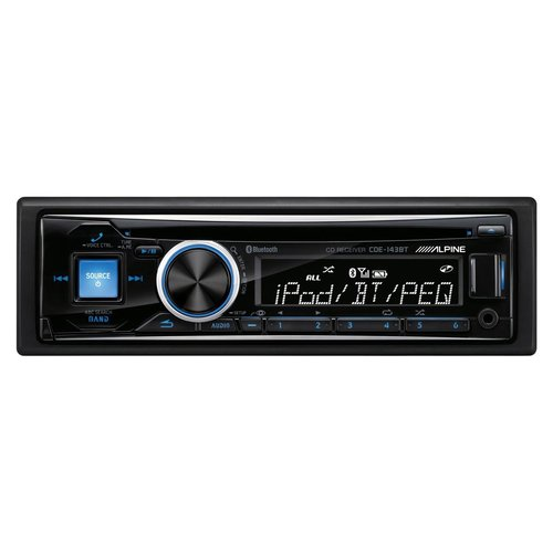 View Larger Image of CDE-143BT CD Receiver w/ Bluetooth, USB Input, and AUX Input