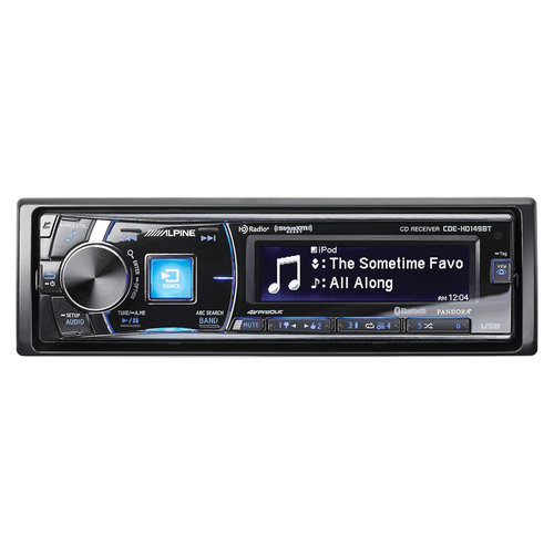 View Larger Image of CDE-HD149BT CD Receiver w/ Bluetooth, HD Radio, USB for iPod/iPhone