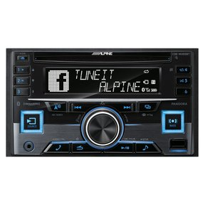 CDE-W265BT Double Din CD Receiver with Bluetooth