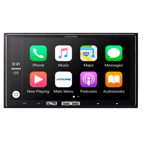 "ILX-107 7"" Wireless Apple CarPlay Mech-less Touchscreen Receiver"