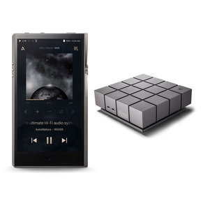 A&futura SE100 Portable Music Player (Titan Silver) with AK Ripper MKII CD-Ripper