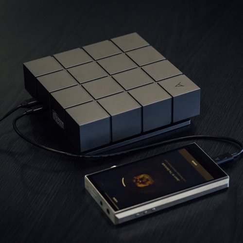 View Larger Image of A&norma SR15 Portable Music Player (Dark Gray) with AK Ripper MKII CD-Ripper