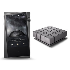 A&norma SR15 Portable Music Player (Dark Gray) with AK Ripper MKII CD-Ripper