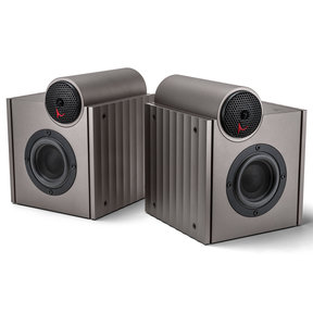 ACRO S1000 2-Way Desktop Speakers - Pair (Gun Metal)