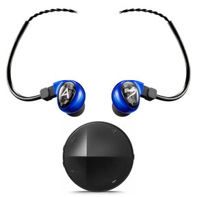 Billie Jean Universal Fit In-Ear Headphones and XB10 Portable Bluetooth Amplifier with DAC
