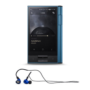 KANN Portable High-Res Audio Player with Billie Jean Universal Fit In-Ear Headphones