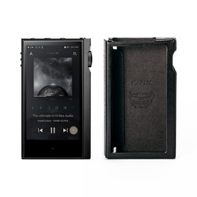 KANNA ALPHA Dual DAC Music Player with Leather Protective Case