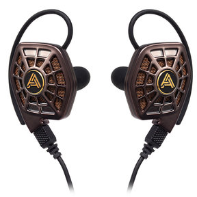 iSINE 20 In-Ear Headphones with Lightning and Standard Audio Cable (Bronze)