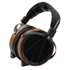 LCD-2 High-Performance Planar Magnetic Over-Ear Headphones (Factory Certified Refurbished, Rosewood with Lambskin Leather)