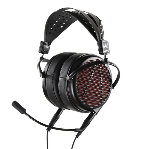 View Larger Image of LCD-GX Audiophile Over-Ear Gaming Headphones (Red/Black)