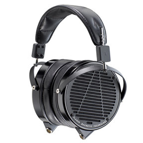 LCD-X Reference-Level Planar Magnetic Over-Ear Headphones (Factory Certified Refurbished, Anodized Aluminum with Lambskin Leather)
