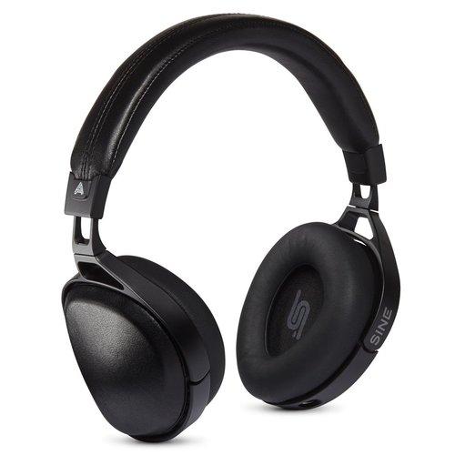 View Larger Image of Sine Closed Back Over-Ear Headphones With Lightning Cable (Black)
