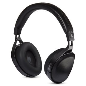 Sine Closed Back Over-Ear Headphones With Lightning Cable (Black)