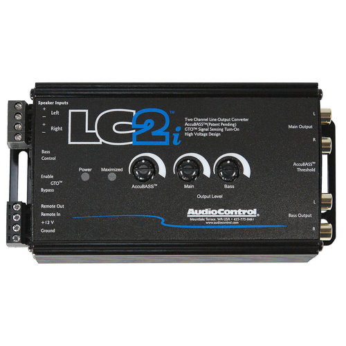 View Larger Image of LC2i 2-Channel Processor with AccuBass and Subwoofer Control