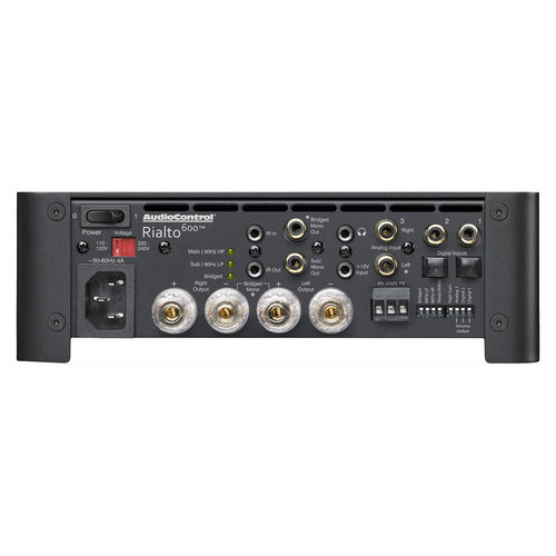 View Larger Image of Rialto 600 2.1-Channel Compact Zone Amplifier and DAC (Black)