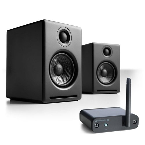 View Larger Image of A2+ Limited Edition Premium Powered Desktop Speaker Package With B1 Bluetooth Music Receiver