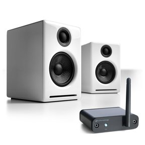 A2+ Limited Edition Premium Powered Desktop Speaker Package With B1 Bluetooth Music Receiver