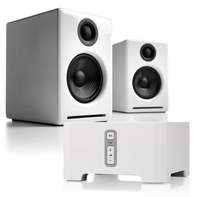 A2+ Premium Powered Desktop Speakers with Sonos CONNECT Wireless Hi-Fi Player
