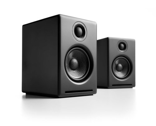 View Larger Image of A2+ Premium Powered Desktop Speakers With Stands - Pair