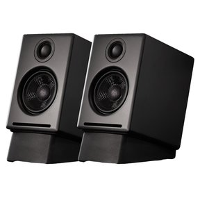 A2+ Premium Powered Desktop Speakers With Stands - Pair