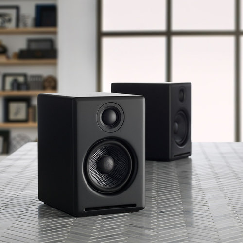 View Larger Image of A2+ Wireless Speaker System (Black) with Audio-Technica AT-LP60X-GM Fully Automatic Belt-Drive Stereo Turntable (Gunmetal/Black)
