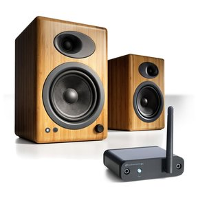 A5+ Limited Edition Classic Powered Desktop Speaker Package With B1 Bluetooth Music Receiver