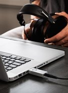 View Larger Image of D3 Premium 24-bit DAC With Headphone Amplifier (Silver)