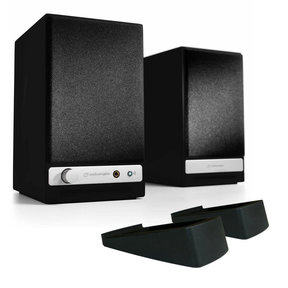 HD3 Wireless Powered Speakers with DS1 Desktop Speaker Stands