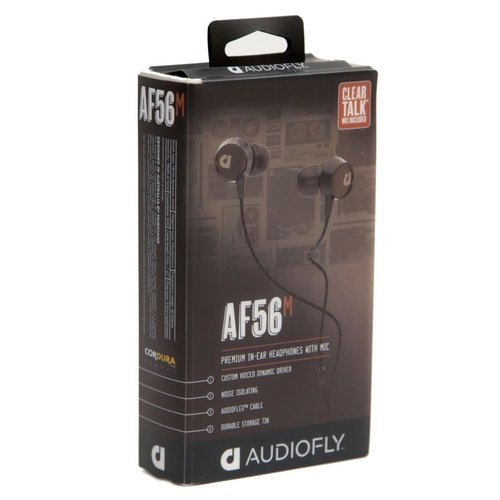 View Larger Image of AF56 Premium In-Ear Headphones With Mic (Edison Black)