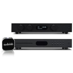 8300A Integrated Amp, 8300CD CD-Preamp, and MDAC Nano Portable Wireless Amplifier (Black)