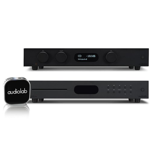 View Larger Image of 8300A Integrated Amp, 8300CD CD-Preamp, and MDAC Nano Portable Wireless Amplifier (Black)