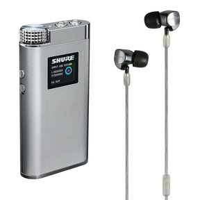 M-Ear 4D In-Ear Monitor Kit with Shure SHA900 Portable DAC Amplifier