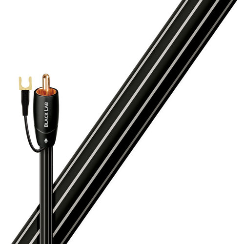 View Larger Image of Black Lab RCA Male to RCA Male Subwoofer Cable - 6.56 ft. (2m)