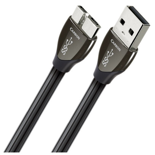 View Larger Image of Carbon Micro USB to USB Cable - 4.92 ft. (1.5m)