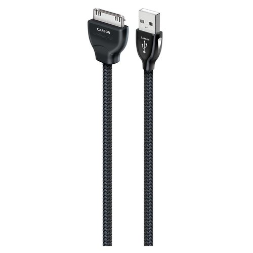 View Larger Image of Carbon USB Digital Audio iPod Cable 0.75m