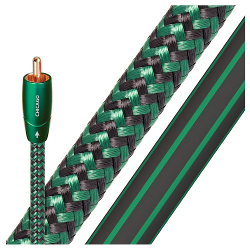 View Larger Image of Chicago RCA Male to RCA Male Cables - 9.84 ft. (3m) - 2-Pack